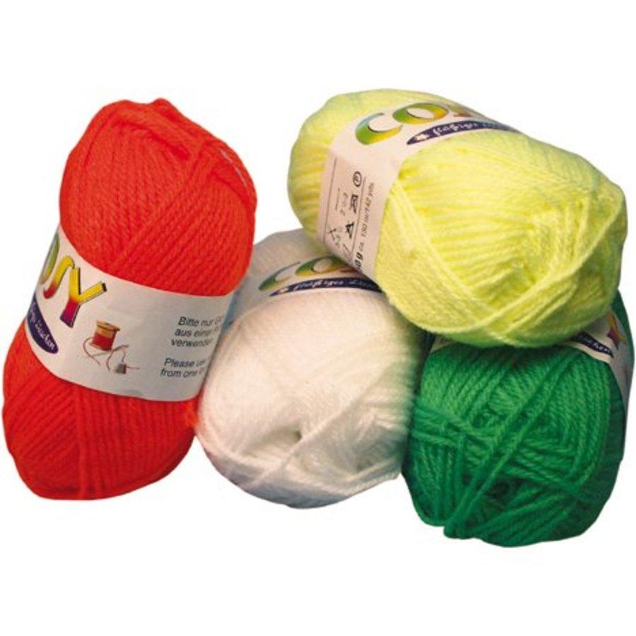 Wolle - 50 Gramm / 130 Meter - verschiedene Farben
