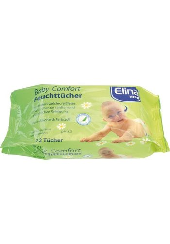 Elina Feuchttücher 72er Elina Größe 20x15cm