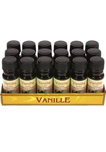 Neckermann Huile parfumée - vanille - 10ml en flacon de verre