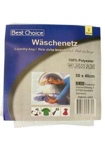 Neckermann Wasnet 2stuks  XL 50x40cm met rits
