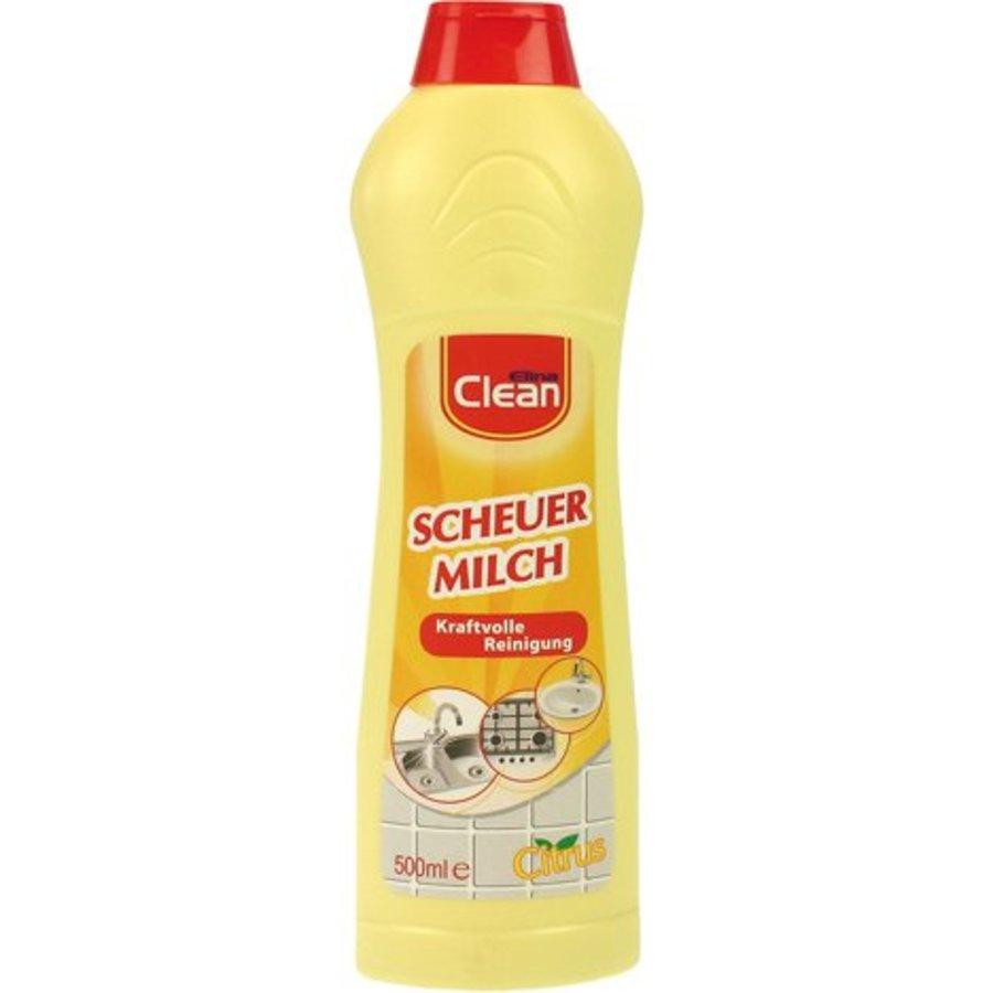 Schuurmelk Elina Clean 500ml citrus voor badkamer + keuken
