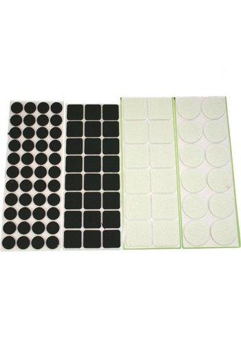 Neckermann Stickers meubles anti-rayures Ass couleurs et tailles 31 pièces