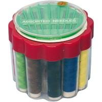 Nähgarn 12 Farben + Gesamtsortiment Nadeln