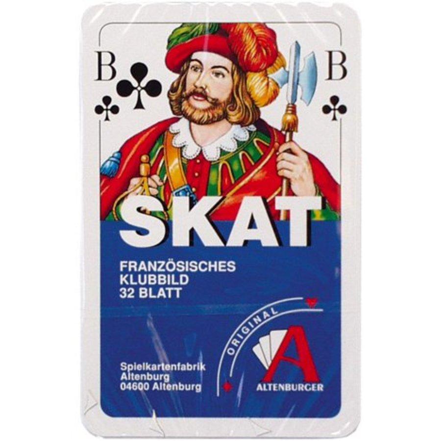 Spielkarten Luxus Französisches Bild 32 Blatt
