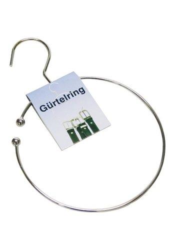 Neckermann Gürtelring 16 cm Durchmesser + Haken für Garderobe
