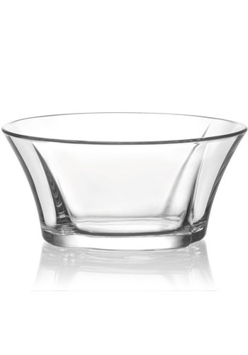 Neckermann Glazen kom 0,25L Desair. + Saladestructuur 11,5x5cm