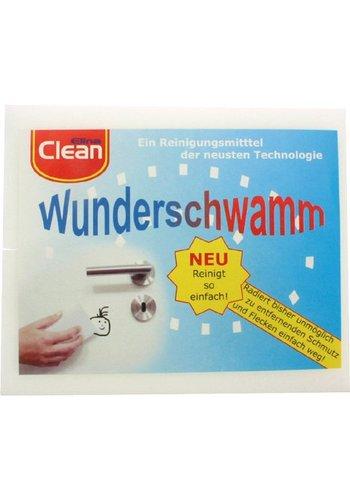 Wonder éponge CLEAN 2er 14x6x3cm gomme à effacer.