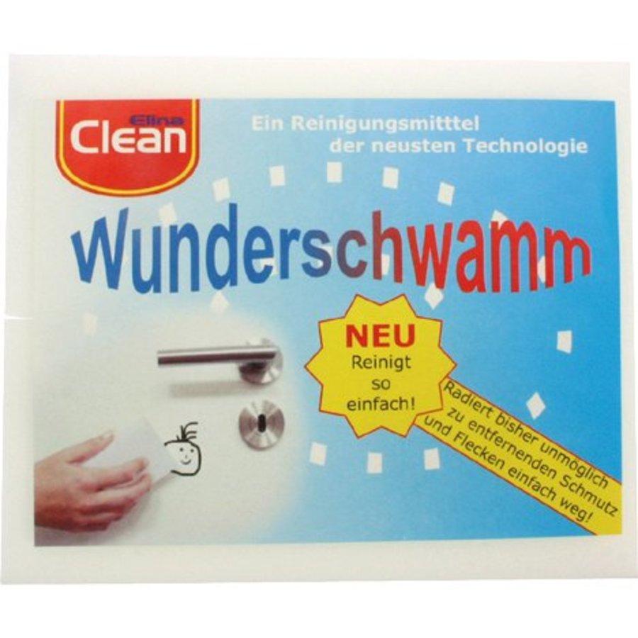 Wunderschwamm CLEAN 2er 14x6x3cm Schmutzradier.