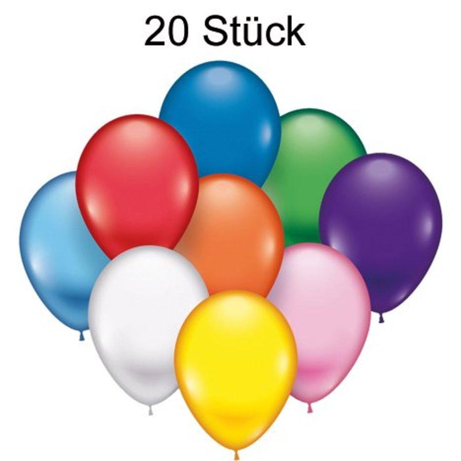 Ballons - 20 pièces - 22 cm