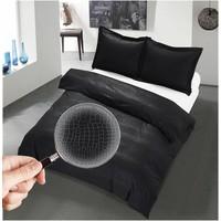 The Luxury Home Collection Monaco 140x200/220 +1-60X70 cm Black
