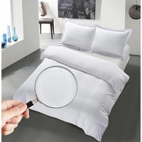 The Luxury Home Collection Monaco 140x200/220 +1-60X70 cm White