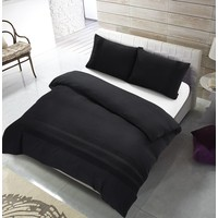 The Supreme Home Collection Avenza 240x200/220 +2*60x70 cm Black