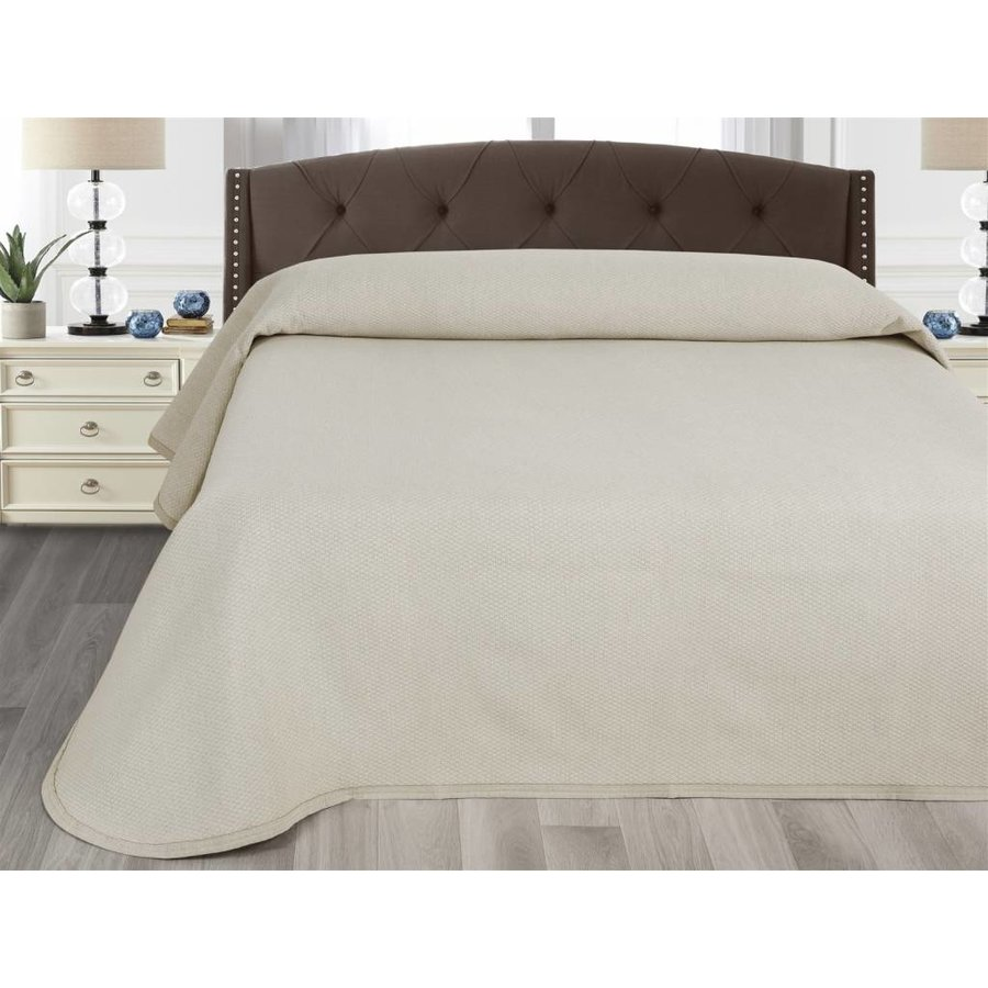 Bedsprei Julia - Off white - 270x260 cm