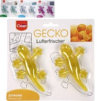 Duft Lufterfrischer Gecko - 2 Stück - verschiedene Düfte