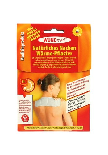 WundMed Wärmepflaster für Nacken und Schulter 30x9,5cm 50gr
