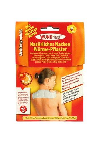 WundMed Warmte Pleister voor u nek en schouder 30x9,5cm 50gr