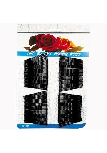 Neckermann Haarspeldjes metaal zwart 4,8cm 144 stuks
