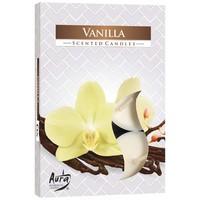 Teelichter mit Duft Vanille - 6 Stück - Luxusverpackung