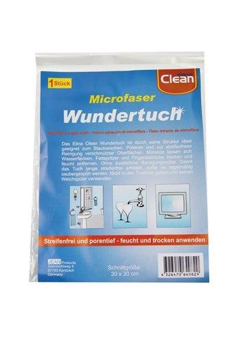 Clean Microvezel schoonmaakdoek - 30x30cm