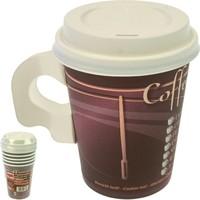 Party Becher Coffee To Go 0,2L 6er mit Deckel