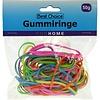 Best Choice Gummibänder 50g trendige Farben sortiert 3 mm breit