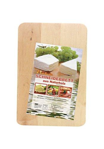 Neckermann Keukenplankje hoekig 22x15x1cm gemaakt van hout