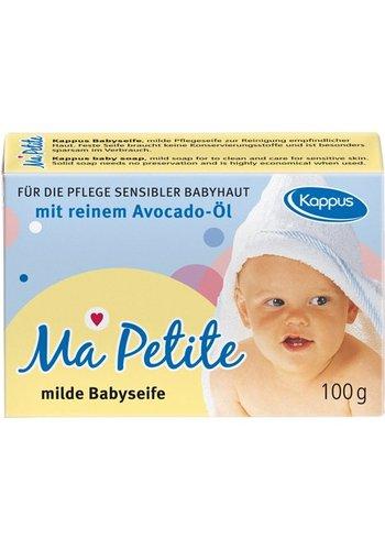 Kappus Savon Kappus Baby 100g m.Avocado huile carton