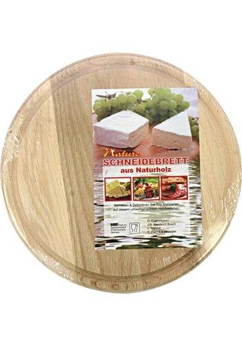 Neckermann Küchenschneidebrett ca. 23 x 0,5 cm Buchenholz
