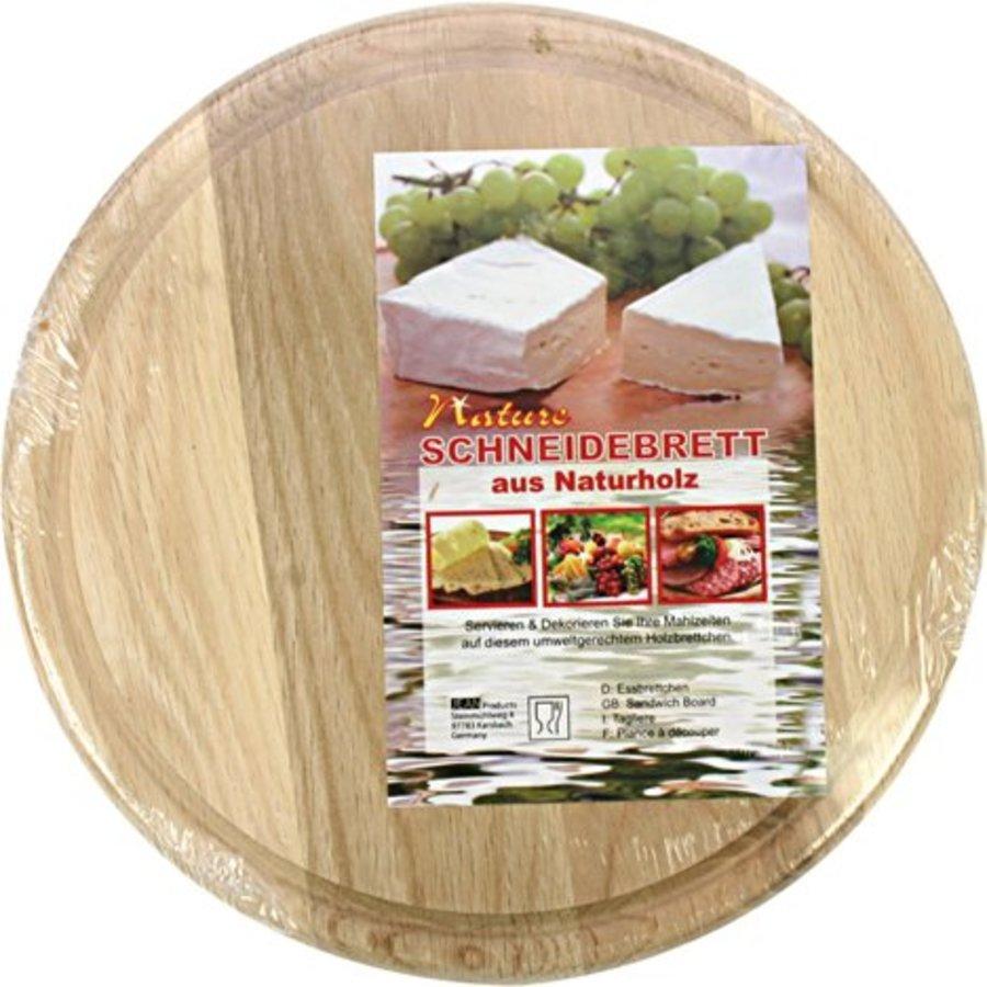 Küchenschneidebrett ca. 23 x 0,5 cm Buchenholz