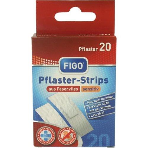 Figo Pleisters 20 stuk sensitief latex vrij