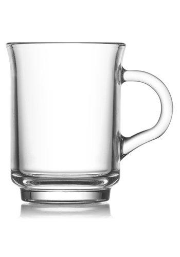 Neckermann Thé et café en verre 250ml 9 x 7cm