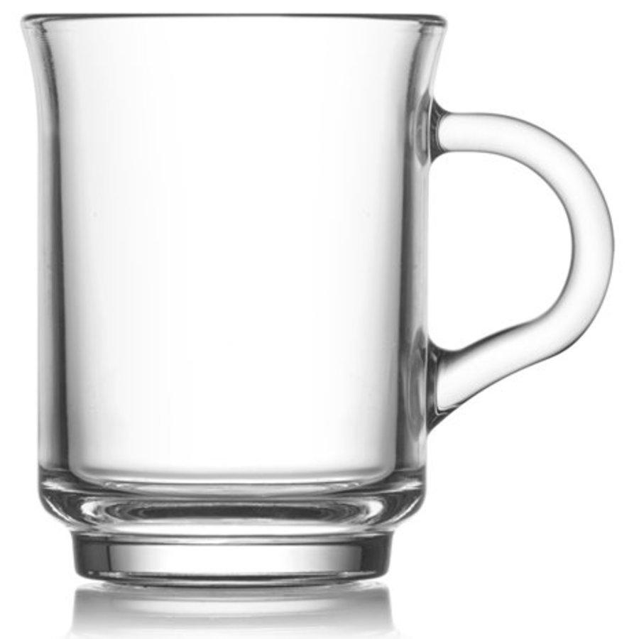 Tee- und Kaffeeglas 250ml 9 x 7cm