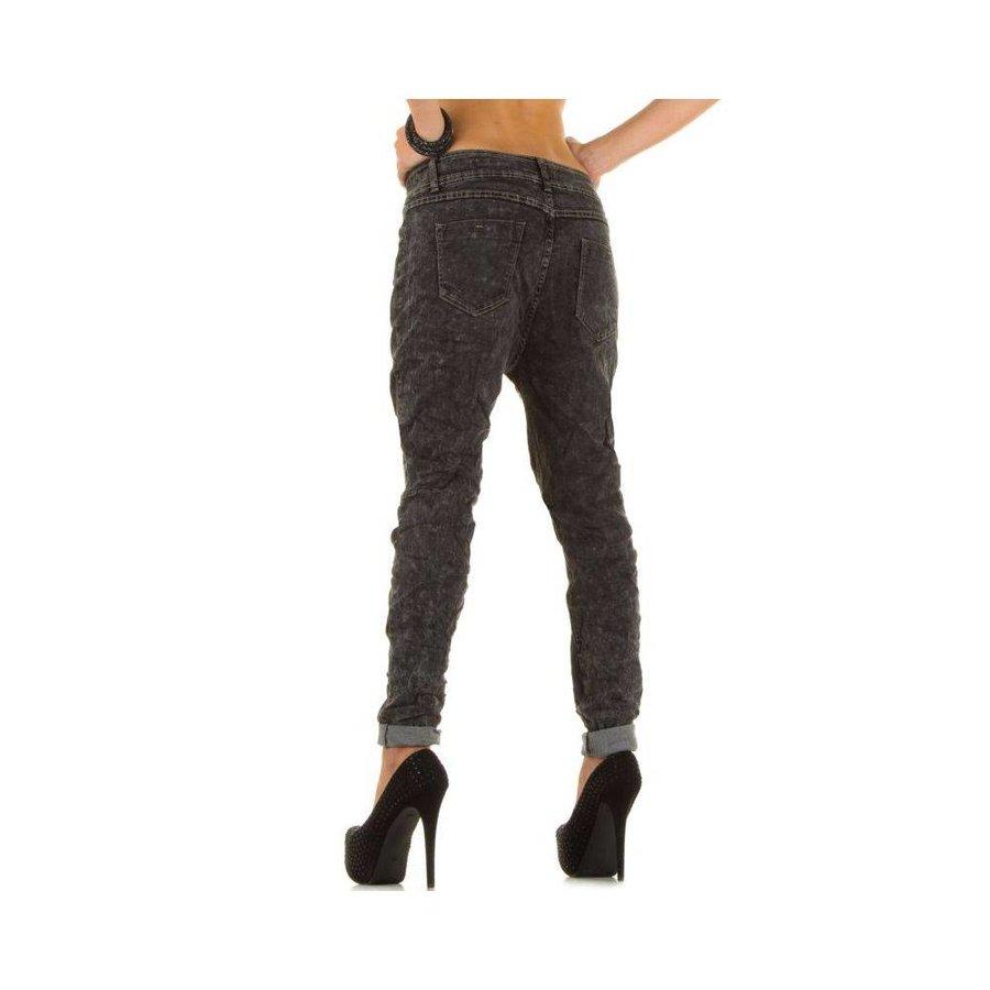Niedrige Damen Jeans - DK.Grey