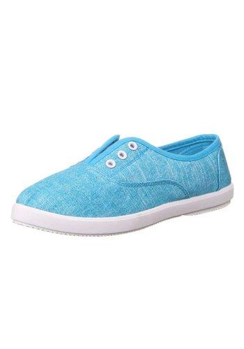 COURA Chaussures de loisirs pour dames - bleu
