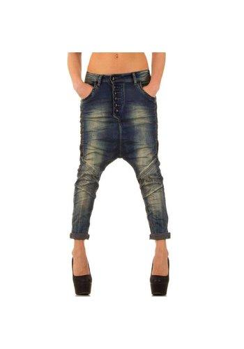 Neckermann Dames Harlem Jeans - blauw