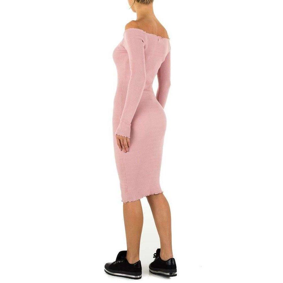 Lange Damen Kleid Gr. Einheitsgröße - Rose