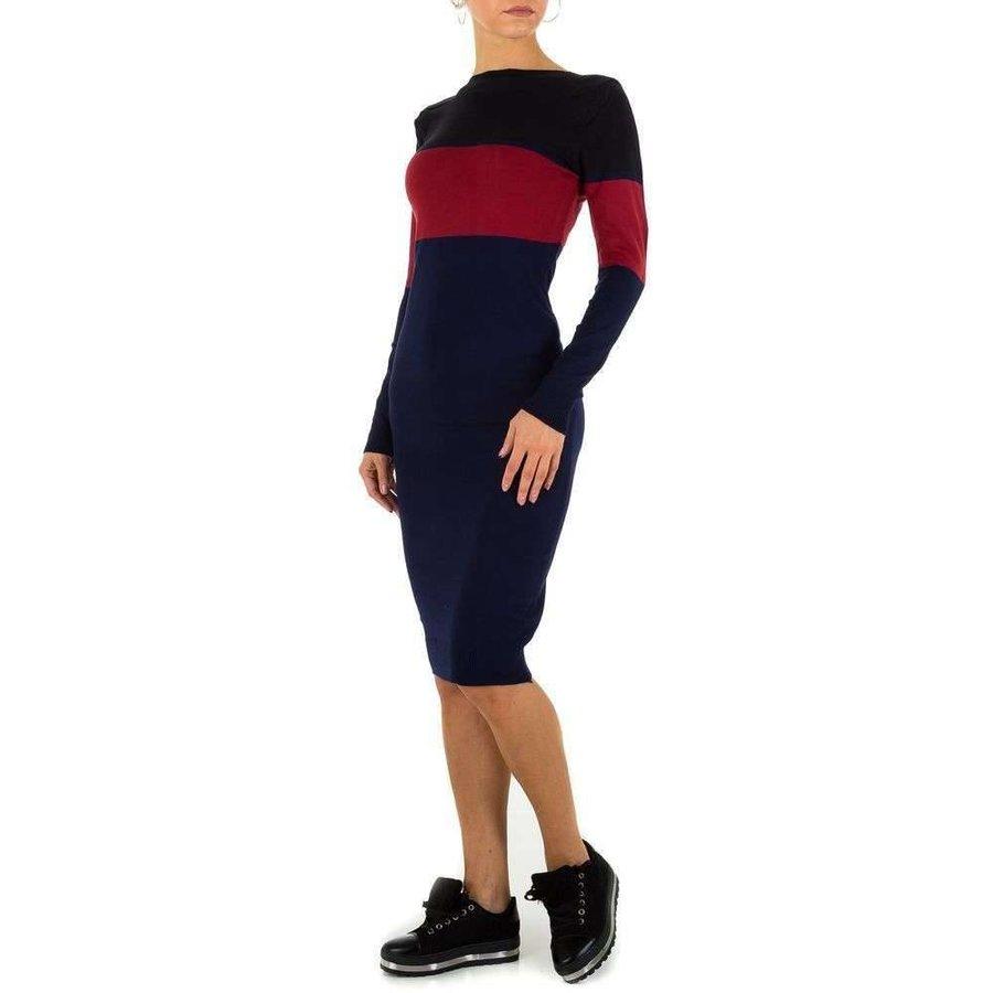 Damen Kleid Gr. Einheitsgröße - DK.blau