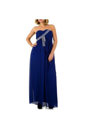 Neckermann Langer Abendkleid - blau
