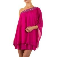 Schickes Damen Kleid - Fuchsia