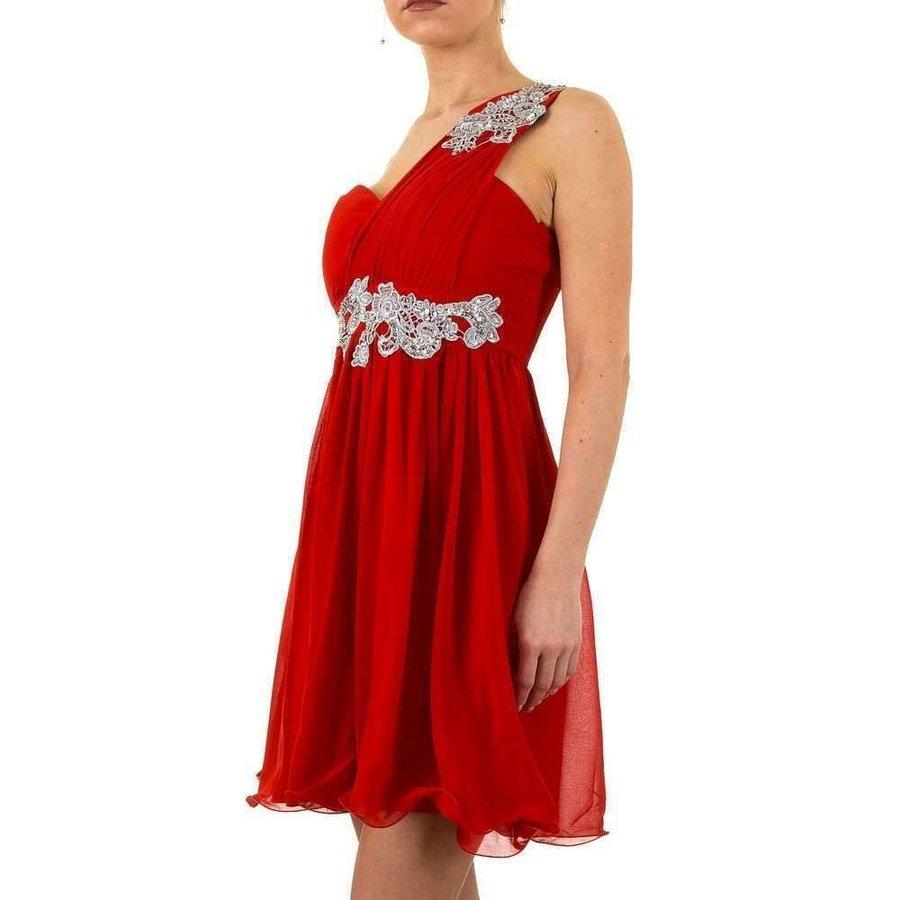 Stilvolles Abendkleid - rot