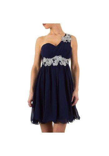 USCO Stilvolles Abendkleid - DK.blau