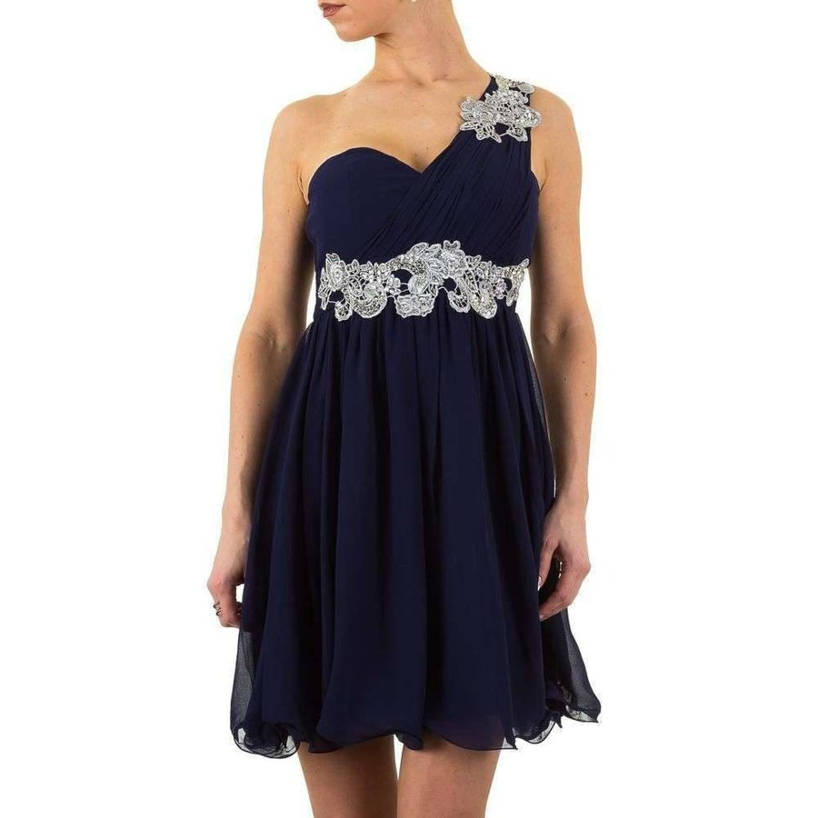 Stilvolles Abendkleid - DK.blau