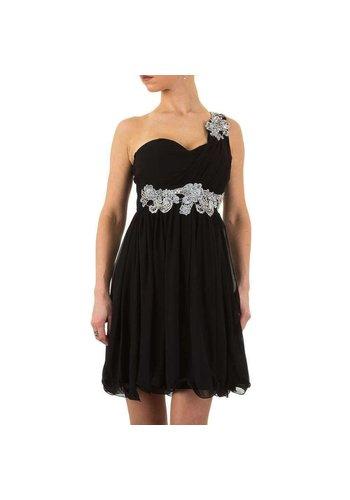 USCO Stilvolles Abendkleid - schwarz