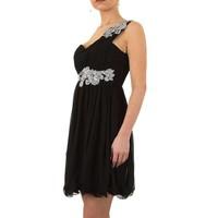 Stilvolles Abendkleid - schwarz
