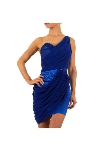 USCO Robe de soirée pour femme bleu