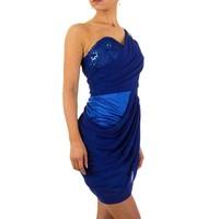 Damen Abendkleid - blau