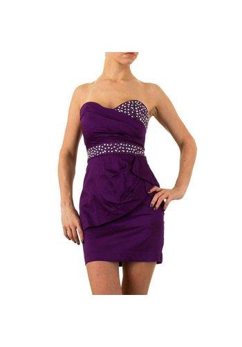 USCO Trägerloses Abendkleid - Lila