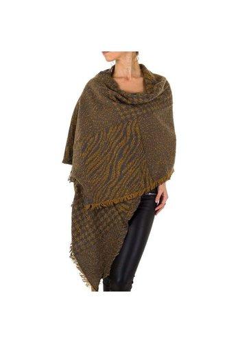 HOLALA Damen Schal extra groß Gr. eine Größe - gelb
