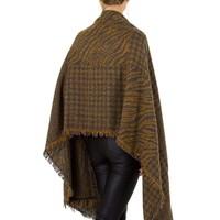 Damen Schal extra groß Gr. eine Größe - gelb