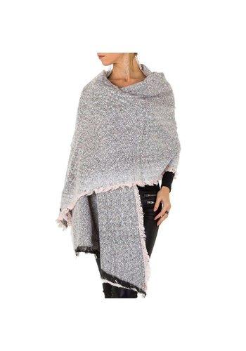 HOLALA Dames Sjaal extra groot Gr. een maat - roze